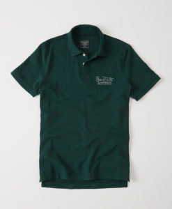 Camisa Polo Abercrombie & Fitch Heritage Polo Verde
