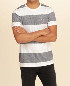 Camiseta Hollister Must-Have Crew T-Shirt Light Grey