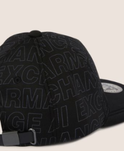 ALLOVER LOGO HAT black 2
