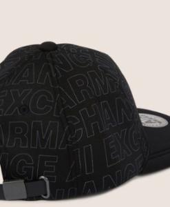 ALLOVER LOGO HAT black 2