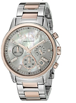 0408e06010 Relógio Armani Exchange Smart Chronograph Stainless Steel - EuEnvio ...
