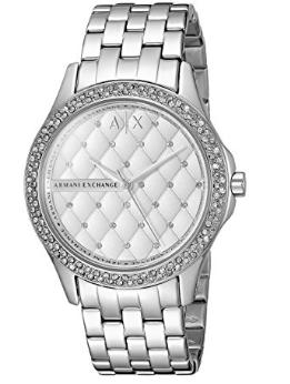 4cd7dd40e Relógio Armani Exchange Smart Stainless Steel White - EuEnvio ...