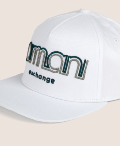 DUAL LINE EMBROIDERED LOGO HAT