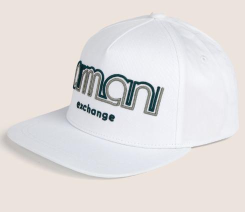 553aa1869 Boné Armani Exchange Embroidered Logo Hat white - EuEnvio Importados ...