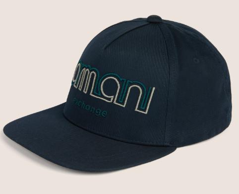 a91ecbbd7 Boné Armani Exchange Embroidered Logo Hat Navy Blue - EuEnvio ...