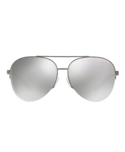 Grey Tortoise Aviator Sunglasses