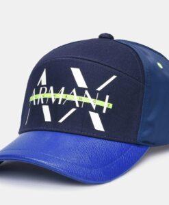 Boné AX Neon Strikethrough Hat Azul