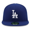 New Era 59FIFTY Los Angeles Dodgers MLB 2017 Authentic Collection On Field Game Fitted Cap 35