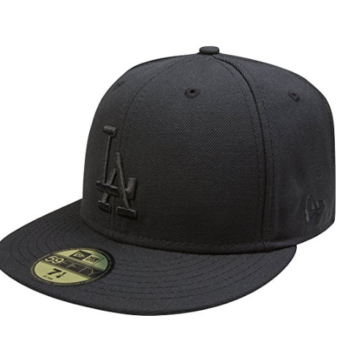 New Era MLB Black on Black 59FIFTY Fitted Cap