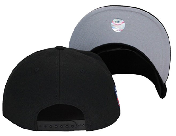 New Era New York Yankees Snapback Hat Cap Black USA Flag MLB olympic f74508add0c