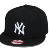 New Era New York Yankees Snapback Hat Cap Black USA Flag MLB olympic