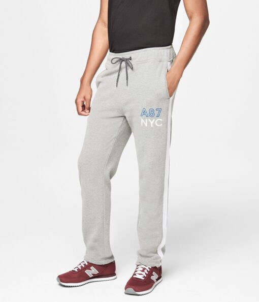 A87 Nyc Slim Sweatpants Cinza