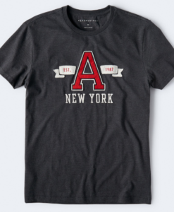NEW YORK A LOGO GRAPHIC TEE