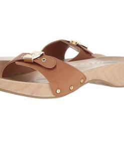 Dr. Scholl's Women's Classic Platform Slide Sandal Carmel