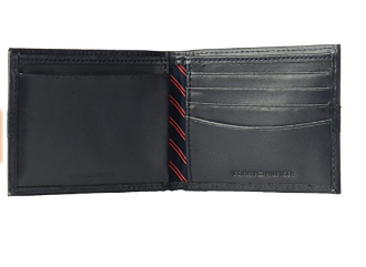 5f83c8471 Carteira Tommy Hilfiger Leather Passcase Wallet Dark Blue - EuEnvio ...