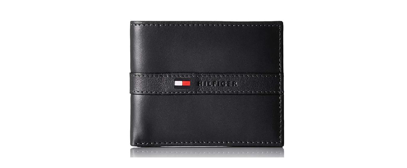 6db874248 Carteira Tommy Hilfiger Leather Passcase Wallet Dark Blue - EuEnvio ...