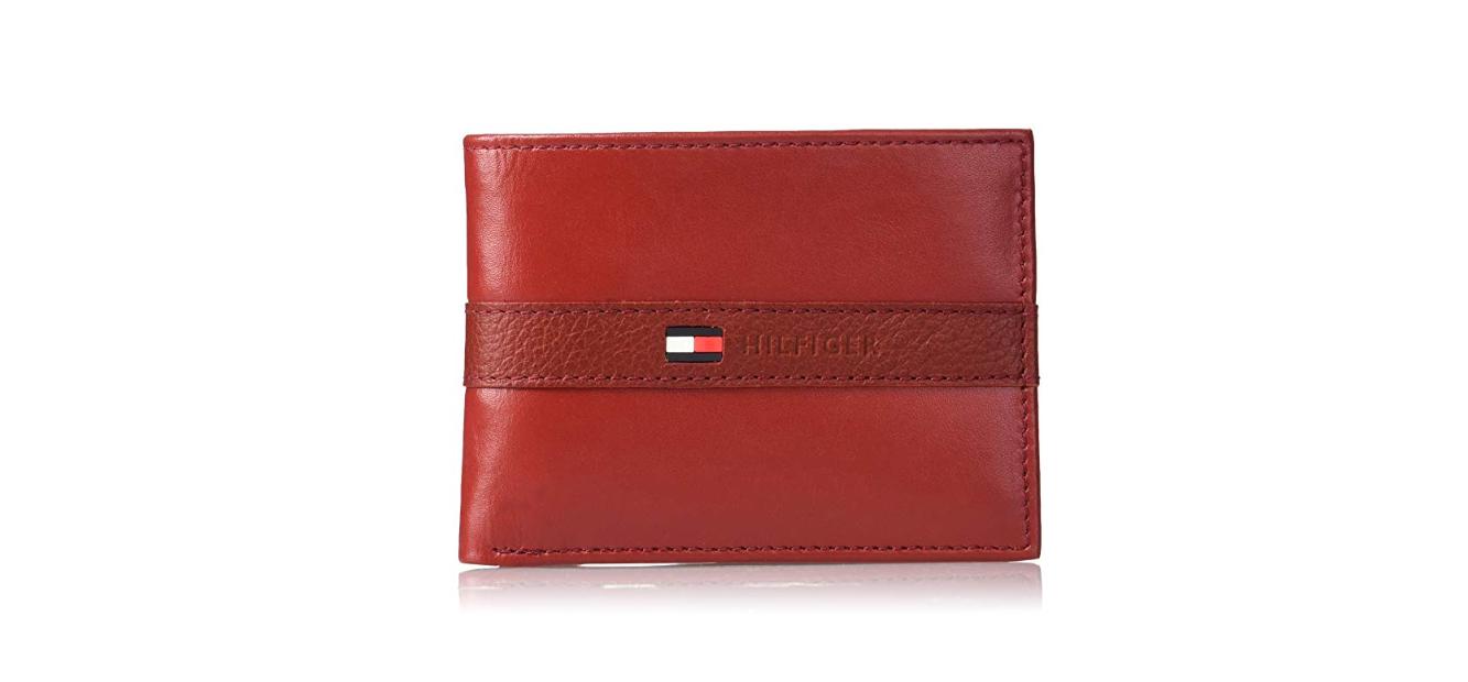 4ceac2538 Carteira Tommy Hilfiger Ranger Leather Passcase Red - EuEnvio ...
