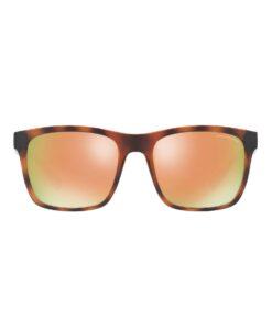 Oculos armani axchange Tortoise Colorblock Retro Sunglasses
