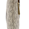 MICHAEL Michael Kors Jet Set Travel Large Logo Wristlet branca 2