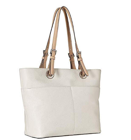 Bolsa Michael Kors Bedford Top Zip Pocket Tote Bag white - EuEnvio ... 78bc97663c