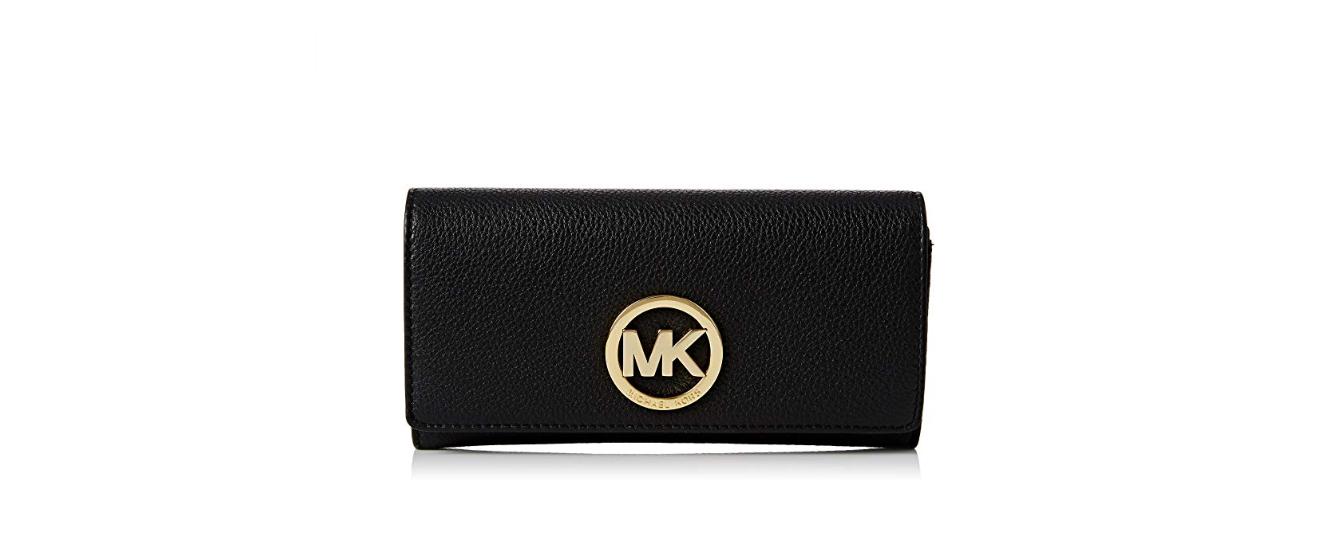 46ae817ac Bolsa Michael Kors Fulton Carryall Leather Wallet Black - EuEnvio ...