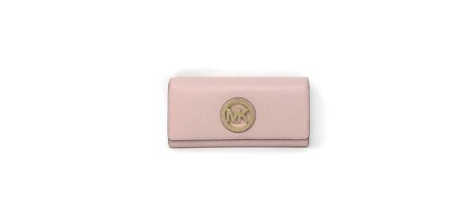 Michael Kors Women's Fulton Carryall Leather Wallet blosson