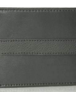 Tommy Hilfiger Men's Ranger Leather Passcase Wallet cinza 2