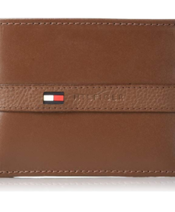 57d4dc124 Tommy Hilfiger Men's Ranger Leather Passcase Wallet tan 2. Visualiza Rápida