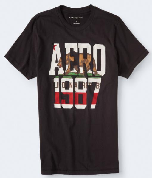 AERO BEAR 1987 GRAPHIC TEE