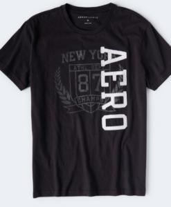 AERO CHAMPS WREATH GRAPHIC TEE