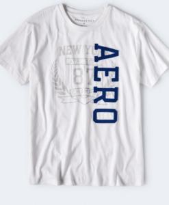 AERO CHAMPS WREATH GRAPHIC TEE bleach