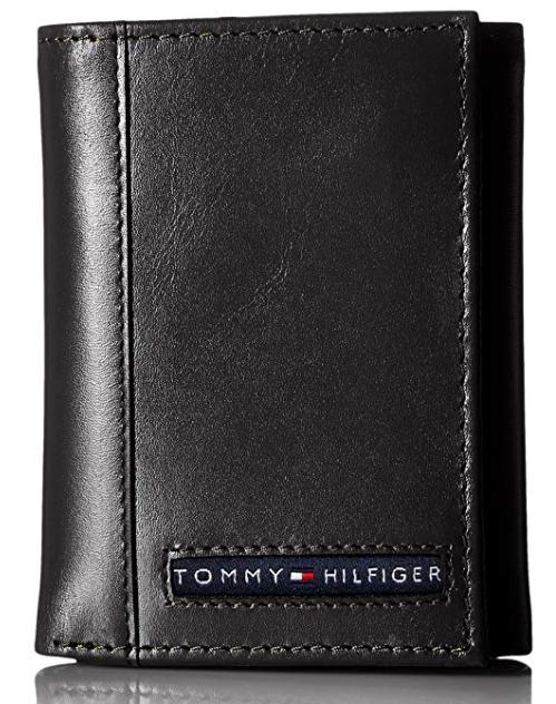 be0e92a55 Carteira Tommy Hilfiger Leather Cambridge Trifol Black - EuEnvio ...