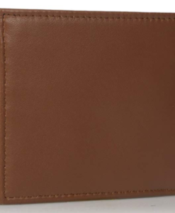 Tommy Hilfiger Men's Leather Passcase Wallet tan 2