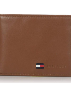 776f6bc0a Tommy Hilfiger Men's Leather Passcase Wallet tan 2. Visualiza Rápida