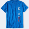 VERTICAL AERO 1987 GRAPHIC TEE lux blue